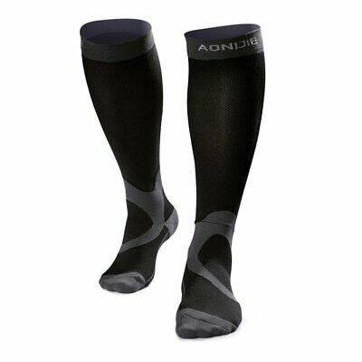 AONIJIE Compression Socks Men Women Athletic Stockings for Sports Running Y*