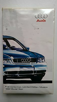 Audi Collection Limited Edition Models MJ MY 1996