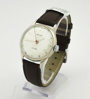RARE Vostok Volna 2809A Precision chronometer wrist watch 22 jewels USSR Soviet