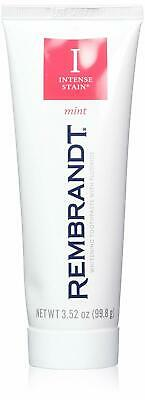 Rembrandt Toothpaste, Intense Stain, Mint Flavor, 3-Ounce
