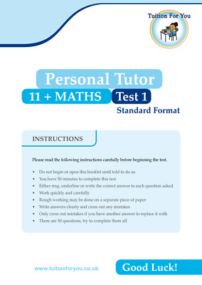 MATHS 11 + PLUS 1x TEST/EXAM PAPERS IDEAL FOR CEM / GL ASSESSMENT MOCK PAPERS