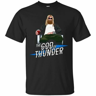 The God Of Thunder T-Shirt Funny Thor Avengers End Game Tee Shirt Short Sleeve