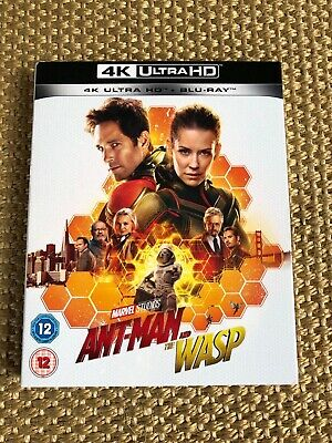 Ant-Man and the Wasp [4K UHD] [Blu-ray] [2018]