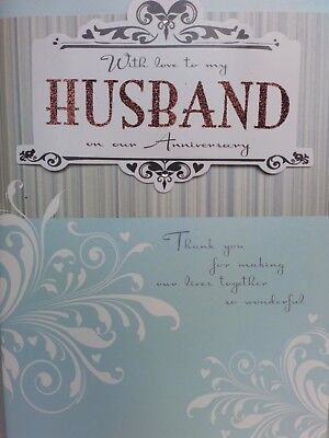 Job lot wholesale 48 large Husband/ Wife Anniversary Greetings Cards