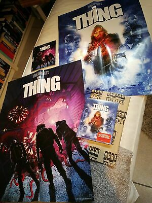 The Thing Deluxe Limited edition Posters Slipcovers Scream Factory FREE SHIPPING