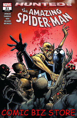 Amazing Spider-Man #21 (2019) 1St Printing Ramos Main Cover Hunted Marvel