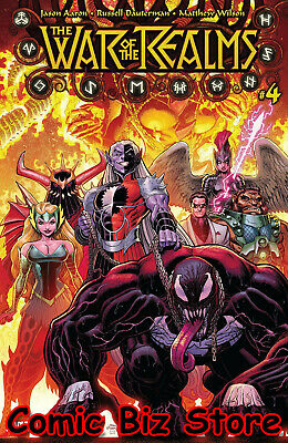 War Of The Realms #4 (Of 6) (2019) 1St Printing Adams Wilson Main Cover ($4.99)