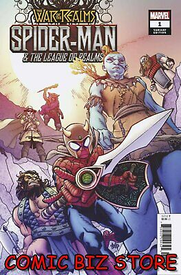 War Of The Realms Spider-Man & League Of Realms #1 (Of 3) (2019) Hamner Variant