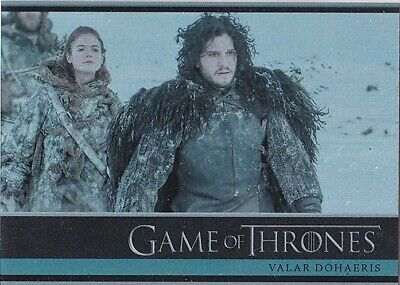 Game Of Thrones Season 3 Foil Parallel Base Insert Set (1-98)