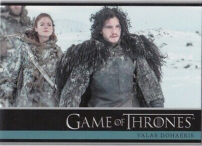 Game Of Thrones Season 3 Base Trading Card Set (1-98)