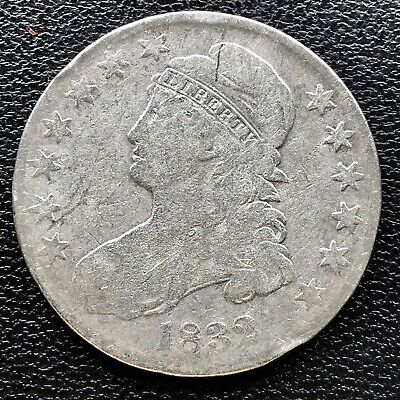 1832 Capped Bust Half Dollar 50c Circulated #16728