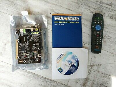 VIDEOMATE S350 DIGITAL Satellite TV Tuner And Capture Card