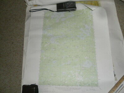 US Geological Survey Maps Forest Center N4745 W W9115 1957 + ALICE LAKE '60 usd