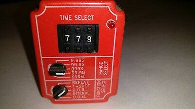 NCC TMM-0999M-461, .01-999 min, Multi-Function Solid State Timer