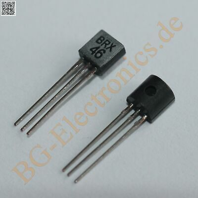 5 x BRX46 Silicon Controlled Rectifiers  TO-92 5pcs