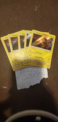 1 x Detective Pikachu Movie Promo SM190 Holographic Card THIS IS FOR ONE.