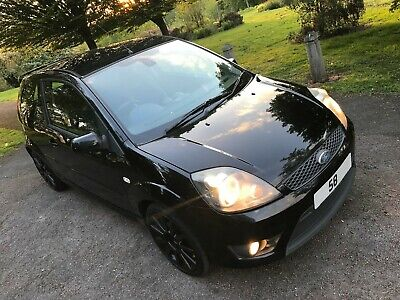 2009My (58) Ford Fiesta 2.0 St, St500 Ext Pack, Leather Seats Gloss Black Alloys