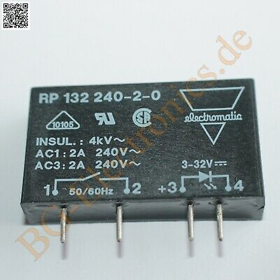 1 x RP132240-2-0 1-Phase Instant-On Switching Carlo Gav  1pcs