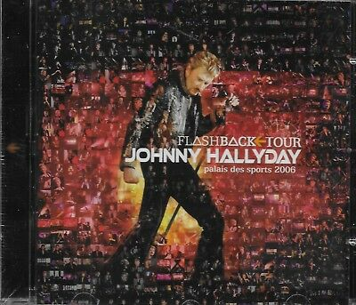 Johnny Hallyday Album 1Cd*Flashback<Tour*Palais Des Sports 2006Neuf Sous Blister