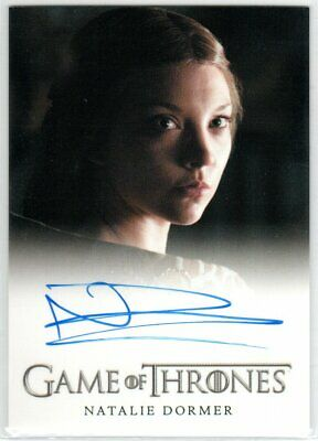 Game Of Thrones Season 3 Natalie Dormer As Margaery Tyrell Full Bleed Autograph