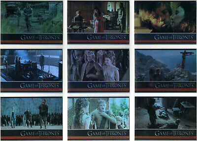 Game Of Thrones Season 4 Foil Parallel Base Insert Set (1-100)
