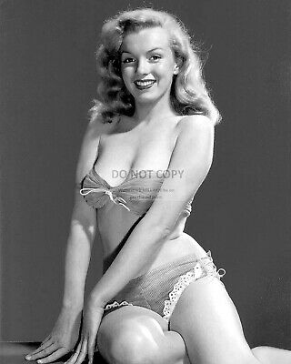 Marilyn Monroe Iconic Sex Symbol And Actress - 8X10 Publicity Photo (Nn-040)