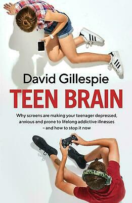 TEEN BRAIN By David Gillespie BRAND NEW on hand IN AUSTRALIA!