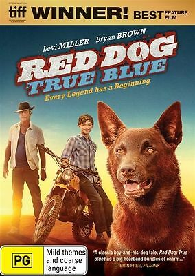 RED DOG - TRUE BLUE DVD Region 4 BRAND NEW & SEALED!