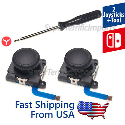 Stick Rocker 3D Analog Joystick Thumb Nintendo Switch Joy-Con Controller USA
