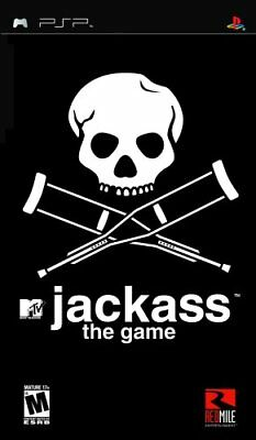 Wholesale Lot of 12 X JACKASS: THE GAME Sony Psp Game- Brand New & Sealed-PP-302