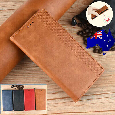 For Google Pixel 3a XL Retro Leather Flip Cards Stand Magnetic Wallet Case Cover