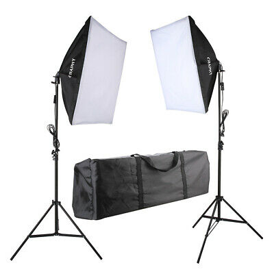 Photo Studio Lighting Softbox Kit Box Photography Zimtown 2Pcs Soft Studio Light