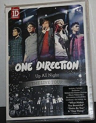 One Direction: Up All Night - The Live Tour (DVD, 2012) 1D NEW Sealed Package