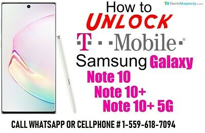 INSTANT REMOTELY UNLOCK t mobile note 10 galaxy s10 s10 plus s10e done in 10 min