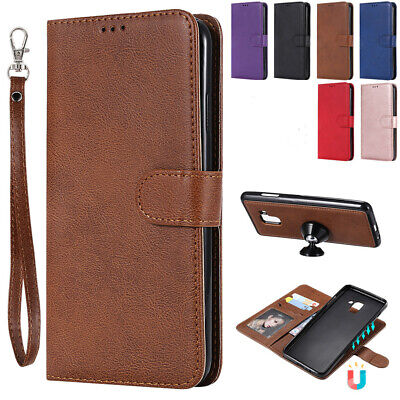 For Samsung Galaxy S10 5G A50 A70 Case Detachable Leather Magnetic Wallet Cover