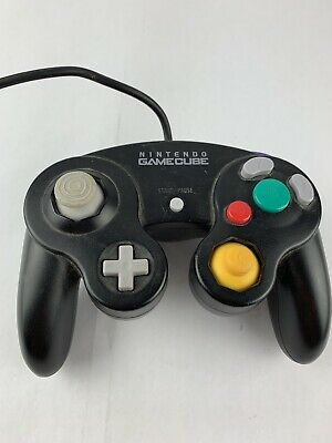 Official Nintendo GameCube Controller Pad Black OEM Original Authentic