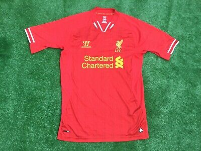 176b437d5 LIVERPOOL HOME 2013 - 14 WARRIOR FOOTBALL SHIRT Tricot Size LARGE ADULT