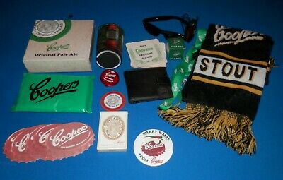 Coopers Ale Collectables - Speakers, Scarf, Coasters, Wallet, Cards, etc.