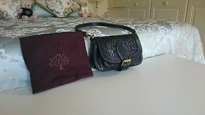 Vintage Mulberry 'Belle' Bag In Kenya Printed Leather - Outstanding  Condition