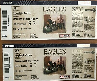 EAGLES - World Tour 2019   München   2 Karten   30. Mai 2019