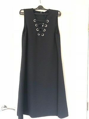 4d77985f3d07b M&S MARKS AND SPENCER TWIGGY COLLECTION DRESS - Maternity - Blue - SIZE 8  BNWT