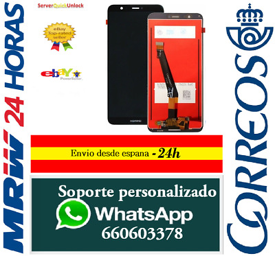 Pantalla Original Completa para Huawei P Smart - Enjoy 7S  FIG-LX1 LX2 Negra