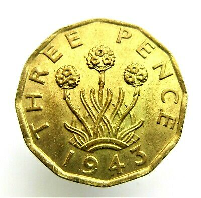 1937 - 1952 George Vi Brass Threepence Choose Your Date  For Your Coin