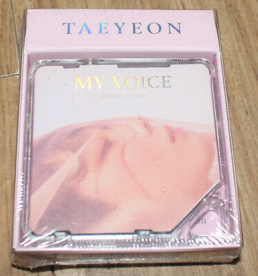TAEYEON My Voice 1ST DELUXE EDITION KIHNO SMART MUSIC ALBUM LIMITED EDITION