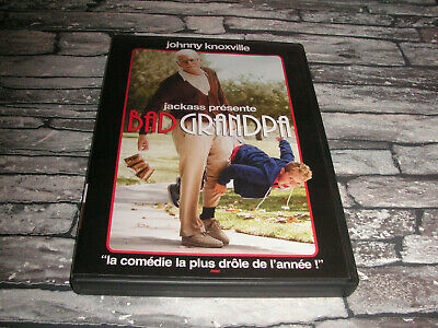 Bad Grandpa  Badgrandpa - Jackass / Johnny Knoxville  / Dvd