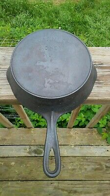 Antique Arch Logo Wagner # 5 Cast Iron Skillet
