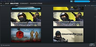 Steam Account Counter Strike Global Offensive CS Source 198 Level 12190 Stunden