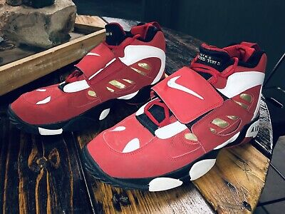8db7381312 Nike Air Diamond Turf 2 II Sz 13 Deion Sanders 49ers Varsity Red 487658-610
