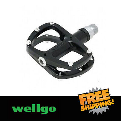 "Grey Wellgo R146R 9//16/"" Aluminum Sealed Bearing Pedals"
