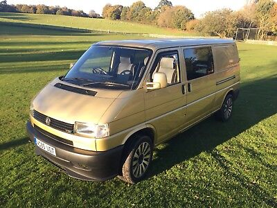 VW T4 Transporter 2.5tdi LWB 2000/reg. MOT 10/18 + lots of work completed.